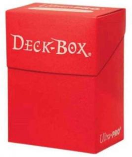 Amigo Ultra Pro Deck Box in der Farbe rot passend für Sammelkarten