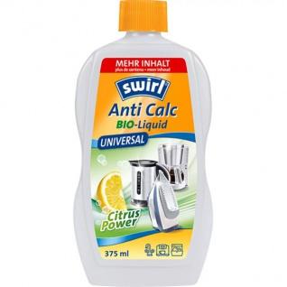 Swirl Anti Calc Bio Liquid Citrus Universal Entkalker 375 ml