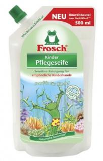 Kinder Pflegeseife von Frosch Nachfüllbeutel 500 ml 6er Pack