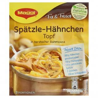 Maggi Fix Spaetzle-Haehnchen Topf