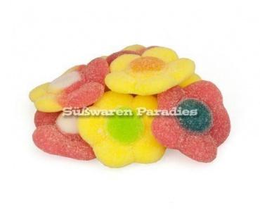 Fruchtgummi Blumen gezuckerte weiche Margaritas Gänseblümchen 1000g