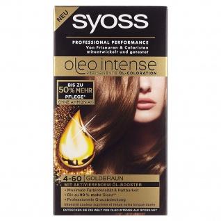 Syoss Oleo Intense 4-60 Goldbraun