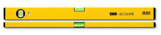 Wasserwaage Construct Länge 100cm Aluminium gelb Messgenauigkeit 1mm/m von BMI