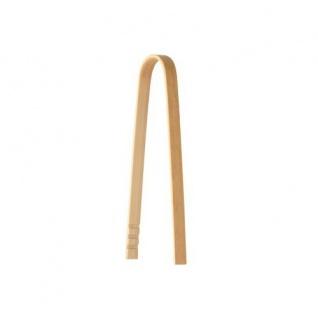 Fingerfood Zangen aus Bambus 50 Stück 10cm im Dispaykarton mit Stülpdeckel