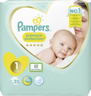 Pampers PREMIUM PROTECTION Windeln New Baby Gr.1 Newborn 2-5kg TP 23ST