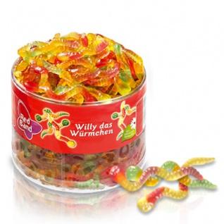 Red Band Willy das Würmchen Fruchtgummi Würmer 1100g 6er Pack