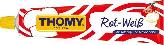 Thomy Rot Weiß klassiker Ketchup und Mayonnaise Tube 200ml 6er Pack