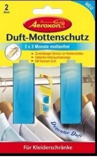 Duft Mottenschutz Aeroxon 2 x 3 Monate Mottenfrei Neu!