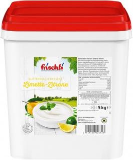 Frischli Buttermilch-Dessert Limette-Zitrone köstlich und cremig 5000g