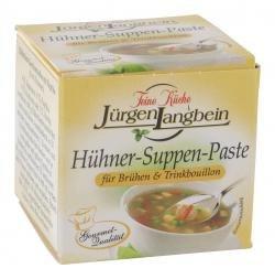 Jürgen Langbein Hühner-Suppen-Paste, 50 g, 10er Pack