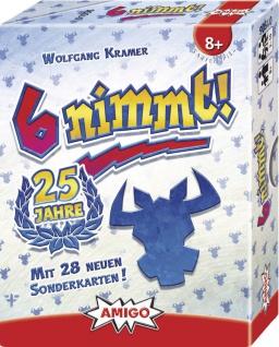 Amigo 6 nimmt 25 Jahre Ein tolles Kartenspiel für die ganze Familie