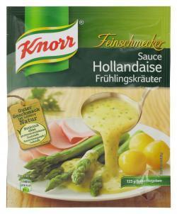 Knorr Feinschmecker Sauce Hollandaise Frühlingkräuter