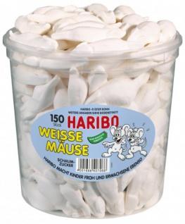 Haribo Weisse Mäuse 1050g