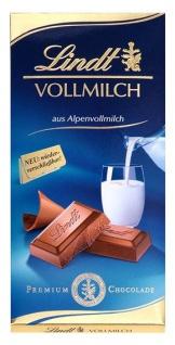 Lindt Alpenvollmilch extra fein der Tafelklassiker wiederverschließbar 100g