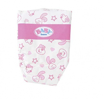 Zapf Creation 826508 Baby Born Windeln Weiß Puppenzubehör 5 Stück