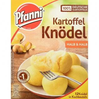 Pfanni Kartoffel Knödel Halb und Halb Klassiker 12 Knödel 400g