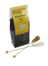Winterland Tee mit 2 Kandiszucker Karamel Vanille Geschmack 100g