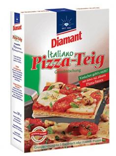 Diamant Italiano Grundmischung Pizza-Teig, mit Pikanter Pizza Sauce 385g