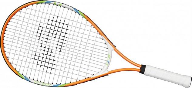 V3Tec Tennisschläger Junior 140 für Kinder Farbe orange weiß grün