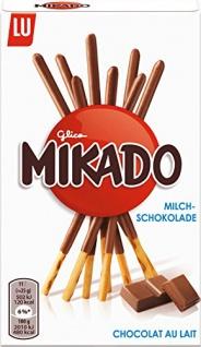 Mikado Milchschokolade, 4er Pack (4 x 75 g)