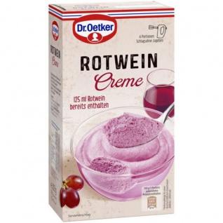 Dr. Oetker Rotwein Creme ein Geschmackserlebnis 203g 7er Pack