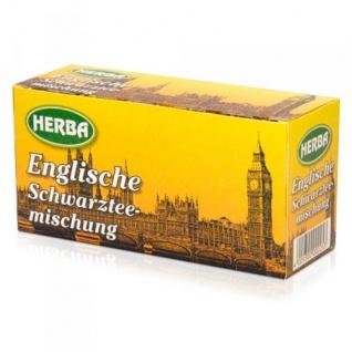 Herba Englische Schwarztee Mischung aromatisch 30g 12er Pack