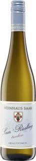 Weinhaus Saar Riesling trockener Weißwein Hochgewächs 750 ml