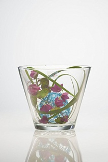 Teelichthalter Windlicht Dekoglas von Sandra Rich Serie CONI 11cm