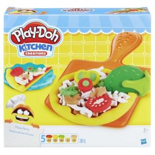 Hasbro Play Doh Kitchen Creations Pizza Party für Kinder ab 3 Jahren