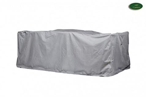 Schutzhülle Sitzgruppe rechteckig aus Polyester Oxford 600D lichtgrau 250x150cm