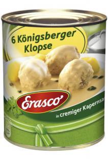 Erasco 6 Königsberger Klopse 800g