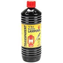Lampenöl transparent auf Paraffinbasis geruchsneutral 1000 ml