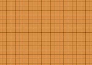 Karteikarten A7 orange kariert