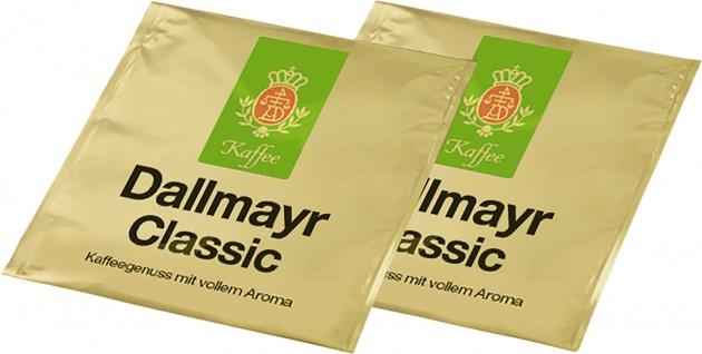Dallmayr Classic aus Arabica und Robustabohnen 100 Pads 700g 6er Pack
