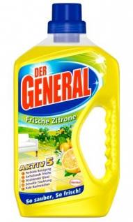 Der General Universal Frische Zitrone Allzweckreiniger 750ml 4er Pack