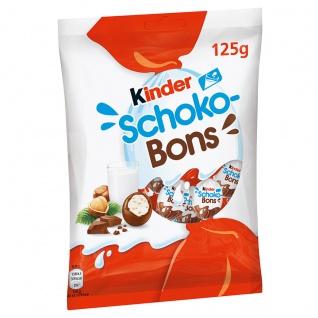 Kinder Schoko Bons mit Milchcreme Füllung einzel gewickelt 125g