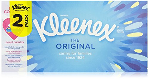 Kleenex Original Taschentücher Duobox, 4er Pack (4 x 176 Stück)