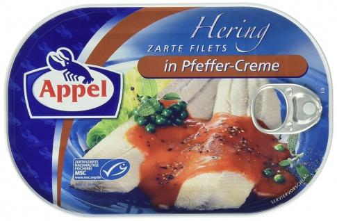 Appel Heringfilets in einer herzhaft pikanten Peffer Creme 200g