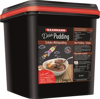 Naarmann Dein Pudding Schoko laktosefrei 1.5 Prozent Fett 5000g