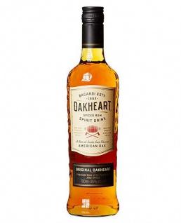 Bacardi Oakheart Spiced Rumspirituose 35% Vol. 700 ml Flasche