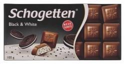 Schogetten Black and White mit gefüllte Alpenvollmilchschokolade 100g
