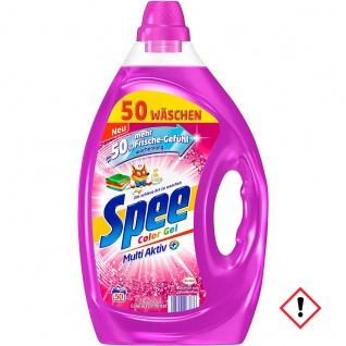 Spee Color Gel Waschmittel frisch langanhaltender Duft 2500ml 4er Pack