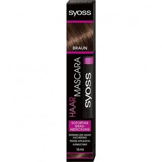 SYOSS Haar Mascara Coloration Braun 16ml