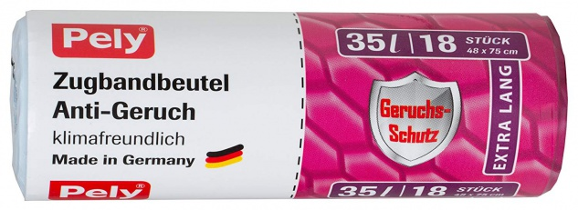 Pely Zugbandbeutel Anti-Geruch 18 Stück