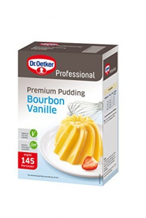 Dr. Oetker Gala Feiner Bourbon Vanille-Pudding 1000g