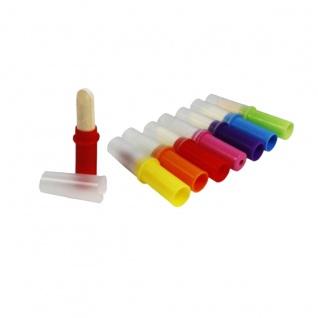 Dextrose Lipsticks mit Fruchtgeschmack und Kunststoffkappe 1250g