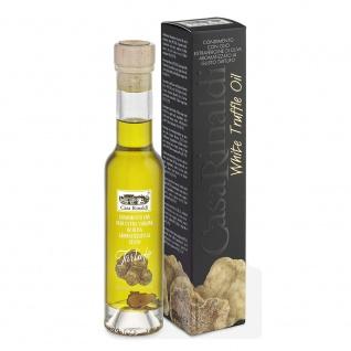 Casa Rinaldi Natives Olivenöl mit weissen Trüffel Flasche 100ml