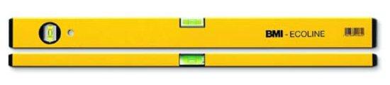 Wasserwaage Construct Länge 80cm Aluminium gelb Messgenauigkeit 1mm/m von BMI