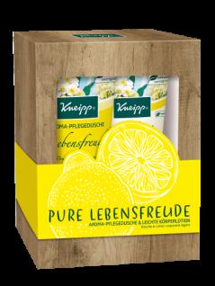 Kneipp Pure Lebensfreude Dusch und Körperlotion Geschenkepackung 400ml
