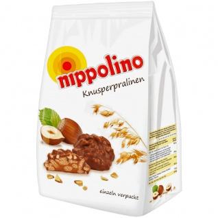 Nippolino 10 einzeln verpackte Knusperpralinen mit Haselnusscreme 130g